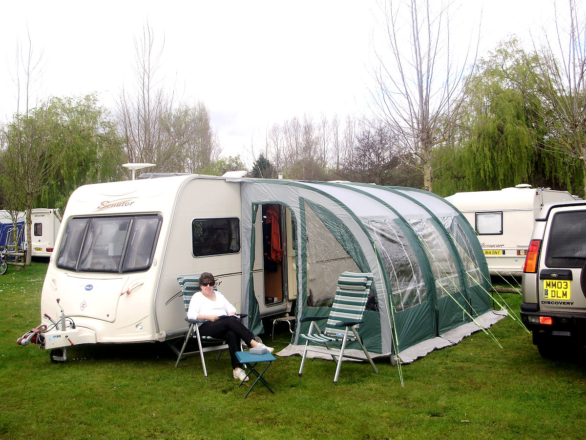 New For Motorhome And Caravan Kampa Jamboree 390 Awning Used Once