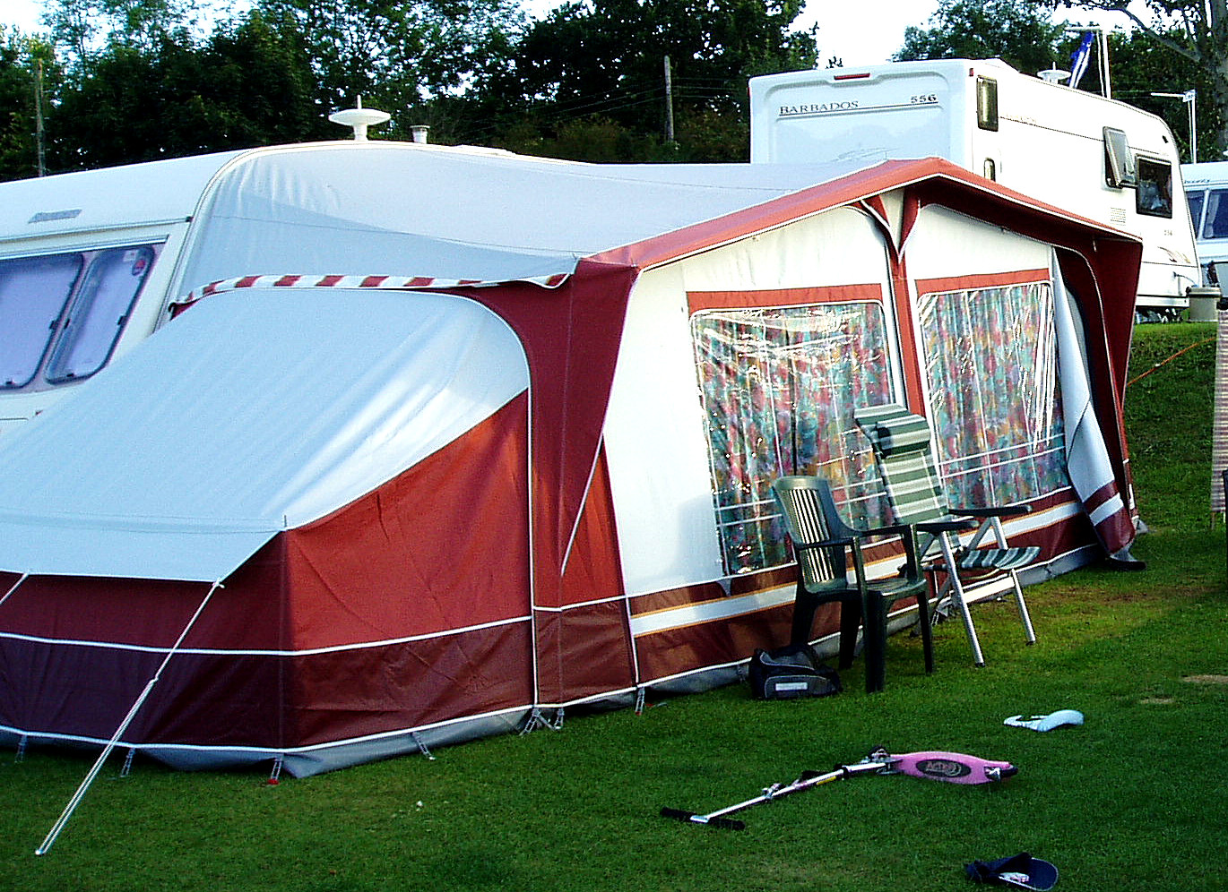Dorema Awning With Tall Annexe