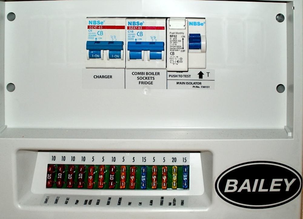 M C B Amps - Caravan Electric